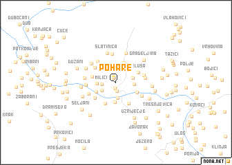 map of Pohare