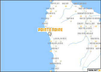 map of Pointe-Noire