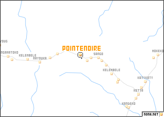 map of Pointe Noire