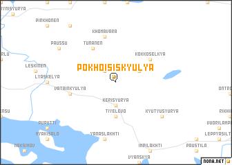 map of Pokhoisiskyulya