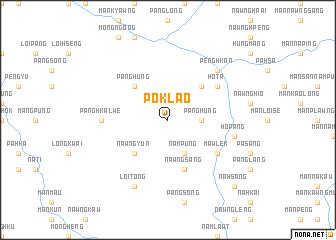 map of Poklao