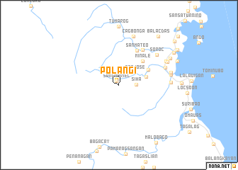 map of Polangi