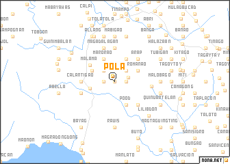 map of Pola