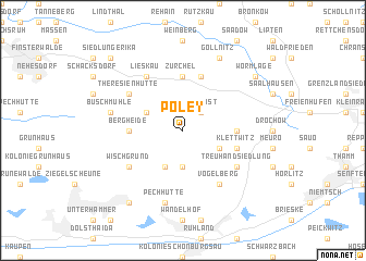 map of Poley