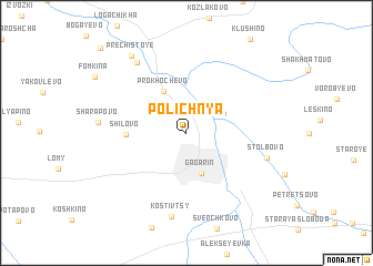 map of Polichnya