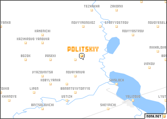 map of Politskiy