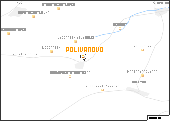 map of Polivanovo