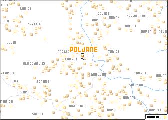 map of Poljane
