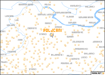 map of Poljčani