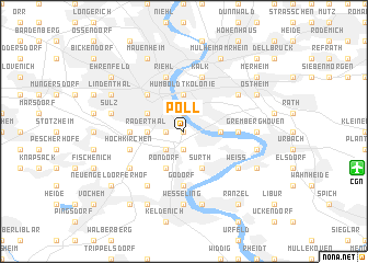 map of Poll