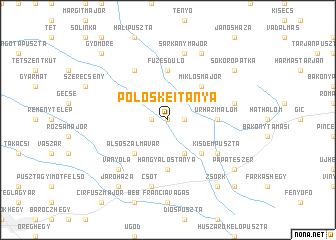 map of Pölöskeitanya