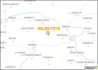 map of Polovitnya