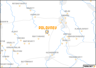 map of Polovnëv