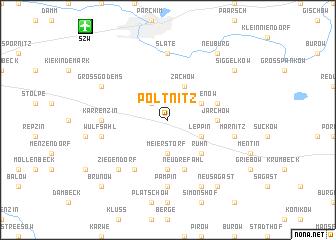 map of Poltnitz