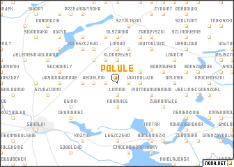 map of Polule