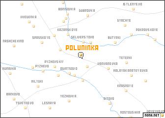 map of Poluninka