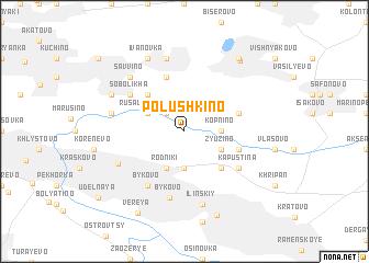 map of Polushkino