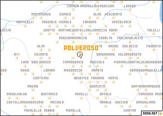 map of Polveroso