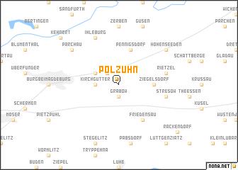 map of Polzuhn