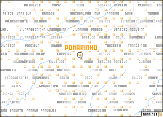map of Pomarinho