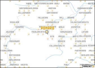 map of Pomaro