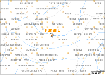 map of Pombal