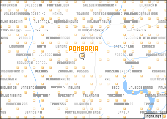 map of Pombaria