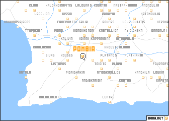 map of Pómbia