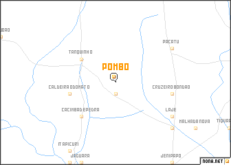 map of Pombo