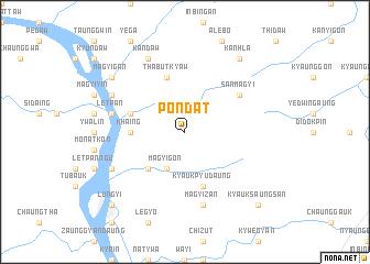 map of Pondat