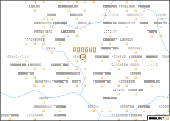 map of Pongwo