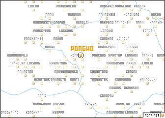 map of Pongwo