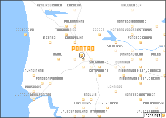 map of Pontão