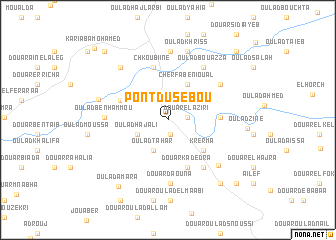 map of Pont du Sebou