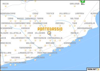 map of Pontedassio