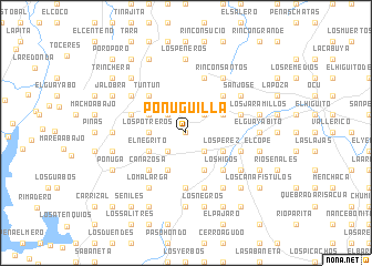 map of Ponuguilla