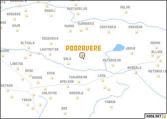 map of Pööravere