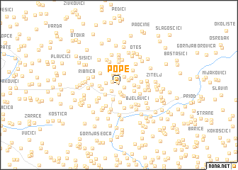 map of Pope