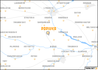 map of Popivka