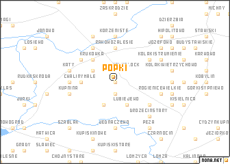 map of Popki
