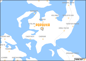 map of Popovka