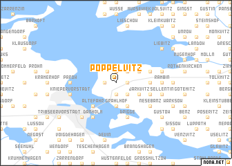 map of Poppelvitz