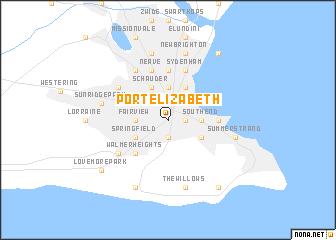 Port elizabeth south africa map - Port elizabeth south africa map ...