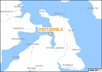 Port Gamble Washington Map.Port Gamble United States Usa Map Nona Net