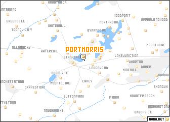 map of Port Morris