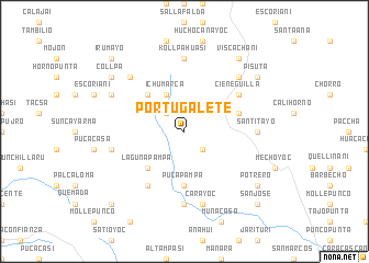map of Portugalete