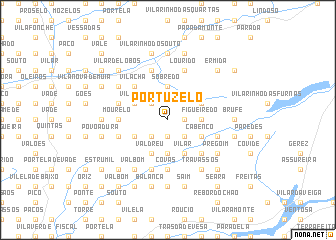 map of Portuzelo