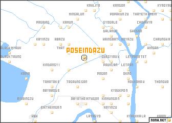 map of Po Seindazu
