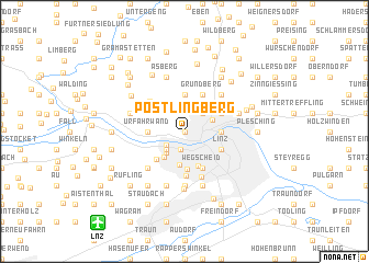 map of Pöstlingberg