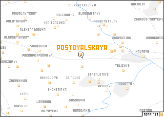 map of Postoyal\